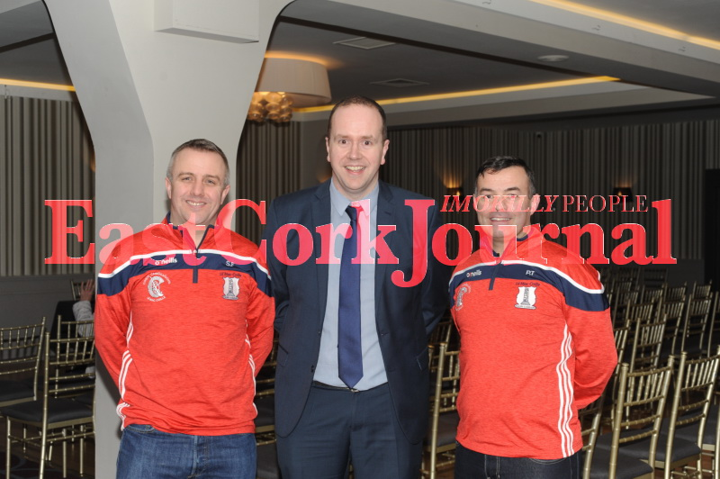 Shane Fennessy, Eoin Kennedy (Chairperson) and Pio Treacy