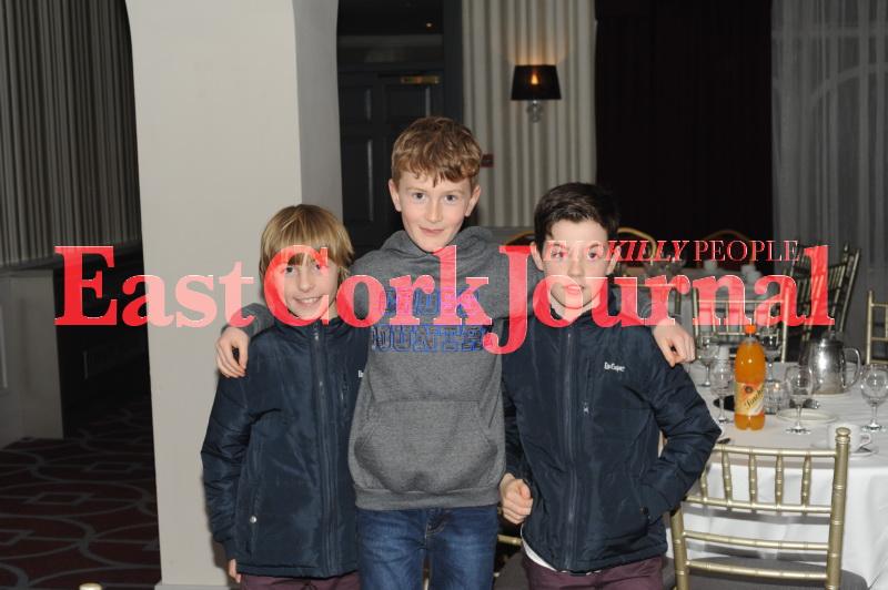 Christian Mahony, Max Smiddy and Mathew Mahony