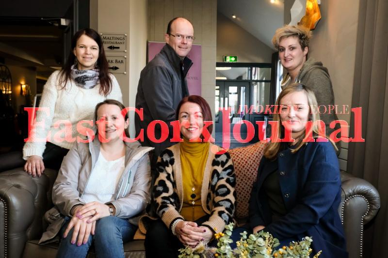 Marzena Mirowska, Eamon Connoughton, Hillary Coughlan, Imogen Deasy, Clodagh Murray and Michelle Russell